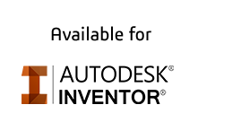 Autodesk Inventor logo gray