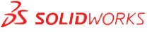 Solidworks logo gray