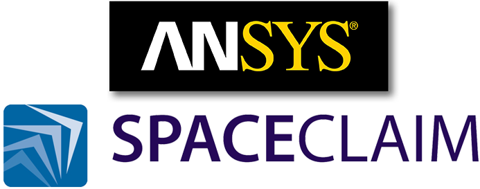 Spaceclaim logo gray