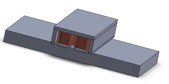 3D Model of the Magnetic Lifting Machine