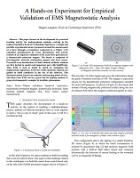 A-Hands-on-Experiment-for-Empirical-Validation-of-EMS-Magnetostatic-Analysis