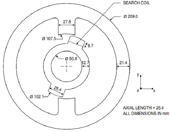 Dimensions-of-stator-and-rotor