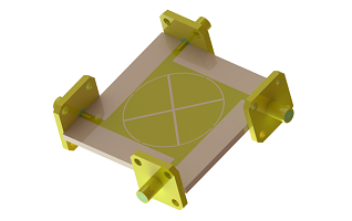 Design and Simulation of a Compact Planar Micro-strip Crossover for Beam forming Networks using HFWorks for SOLIDWORKS