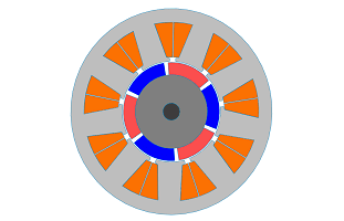 Electromagnetic Simulation of Brushless DC motor inside SOLIDWORKS