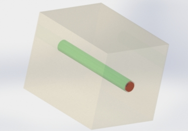 High Frequency Simulation of a Through-Silicon Via (TSV) for 3D Chip Using HFWorks for Solidworks