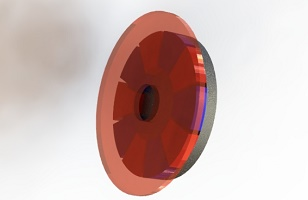 3D Simulation of Eddy Current Braking System using EMS and SOLIDWORKS Motion Coupling