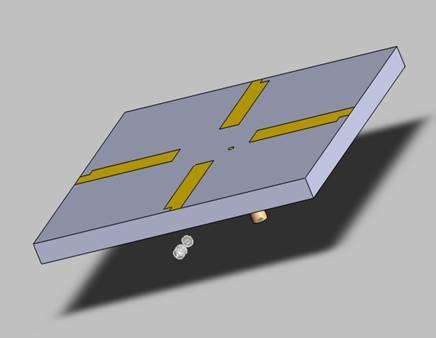 GPS antenna 3D structure
